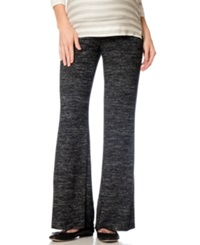 A Pea In The Pod Maternity Wide Leg Lounge Pants Heather Grey
