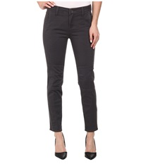 Kut From The Kloth Angelina Moto Ankle Skinny Grey Women's Jeans Gray
