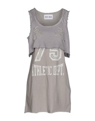 Brand Unique Dresses Short Dresses Women Grey