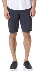 Theory Forged Plymouth Shorts Deep Blue