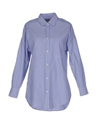 Truenyc. Shirts Shirts Women Blue