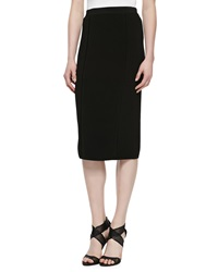 Jason Wu Over The Knee Pencil Skirt Black
