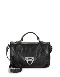 Aimee Kestenberg Westside Leather Satchel Marine Blue