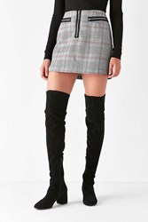 Urban Outfitters Thelma Over The Knee Boot Black