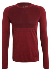 Your Turn Active Long Sleeved Top Winetasting Dark Purple