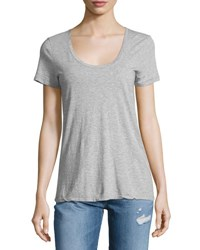 Ag Jeans The Killian Jersey Tee Heather Gray