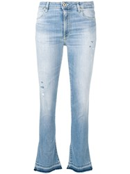 Dondup Classic Flare Jeans Blue