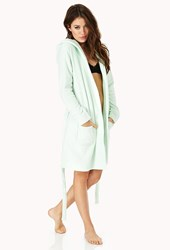 Forever 21 Ultra Cozy Hooded Robe