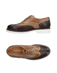 Red Carpet Lace Up Shoes Dark Brown