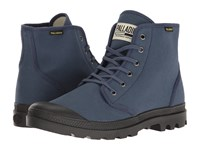 Palladium Pampa Hi Originale Indigo Black Lace Up Boots Blue