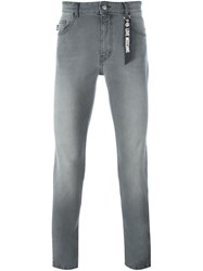 Love Moschino Slim Fit Jeans Grey