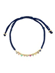 Natasha Collis 'Precious' Friendship Bracelet Blue
