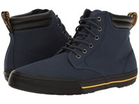 Dr. Martens Eason Indigo Canvas Men's Boots Navy