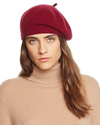 Bloomingdale's C By Cashmere Angelina Beret Pinot