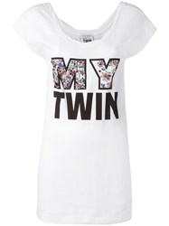 Twin Set 'My Twin' T Shirt White