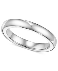Triton White Tungsten Ring 3Mm Wedding Band