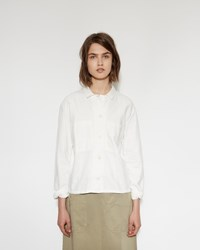 Mhl By Margaret Howell Work Shirt Off White