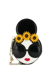 Alice Olivia Stace Face Coin Wallet Black