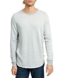 Sol Angeles Sherpa Pullover T Shirt Heather