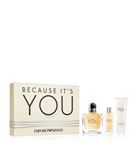 Armani Because It's You For Her Edp Gift Set