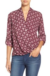 Women's Pleione Faux Wrap Blouse