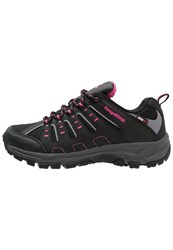 Kangaroos Botar Hiking Shoes Black Magenta