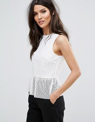 Warehouse Linear Top White