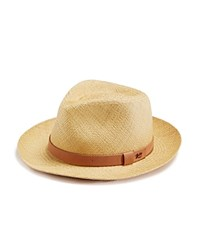 Bailey Of Hollywood Gelhorn Straw Hat With Leather Band Natural