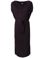 Unconditional Cowl Neck Dress Pink And Purple
