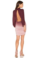 Young Fabulous And Broke Shiloh Dress Burgundy