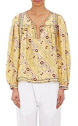 Isabel Marant Women's Georgette Tyron Tunic Yellow