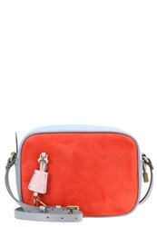J.Crew Across Body Bag Sunset Petal Dove Red