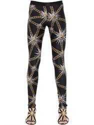 Fausto Puglisi Chains Printed Lycra Leggings