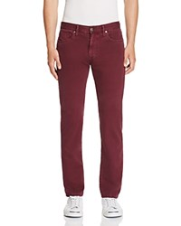 Joe's Jeans Brixton Kinetic Collection Twill Five Pocket Straight Fit Pants Huckleberry