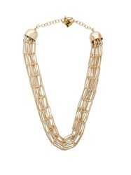 Rosantica By Michela Panero Muse Chainmail Necklace Gold
