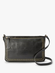 And Or Isabella Leather Cross Body Bag Black