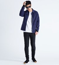 Olaf Hussein Navy Tom Team Jacket