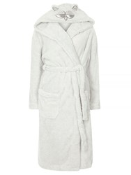 Dorothy Perkins Super Cosy Owl Dressing Gown Grey