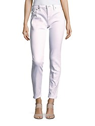 True Religion Cotton Blend Cropped Jeans Optic White