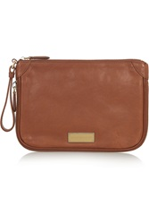 Marc By Marc Jacobs Washed Up Textured Leather Clutch