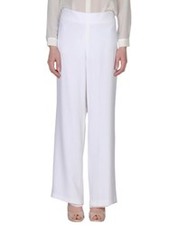 Rena Lange Trousers Casual Trousers Women White