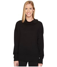 Lucy Inner Purpose Pullover Black Long Sleeve Pullover