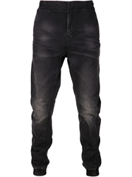 Prps Goods And Co. Faded Wash Slouchy Trousers Black
