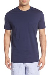 Vilebrequin Men's Pocket T Shirt Navy Blue