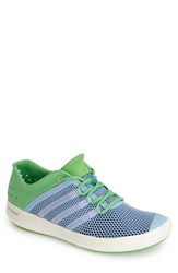 Men's Adidas 'Climacool Boat Pure' Water Shoe Clear Sky Chalk Flash Green