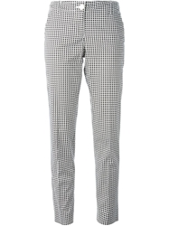 Armani Jeans Dotted Pattern Trousers