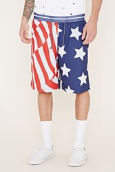 Forever 21 Reason Stars And Stripes Shorts