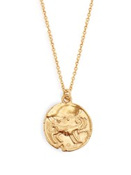 Alighieri Aries Gold Plated Necklace