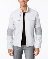 Inc International Concepts Men's Asher Faux Suede Jacket Only At Macy's Silver Lining