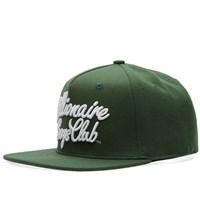 Billionaire Boys Club Script Logo Snapback Green